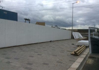 600M 2.4 Builders Hoarding Under Costruction (2)