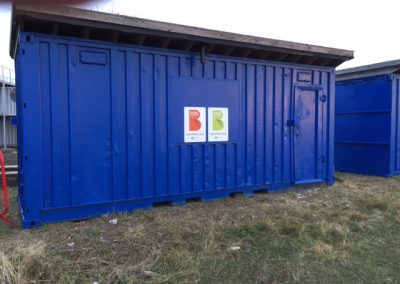 Container refurbishment with Green Roof (1)